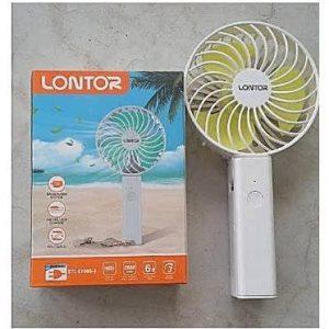 Lontor Rechargeable Mini Hand Fan discountshub