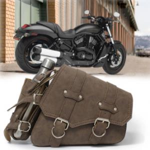 Men Vintage Motorcyle Bag Water Bottle Bag Outdoor Travel discountshub