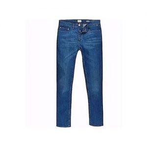 Men's Straight Jeans Trousers - Blue discountshub