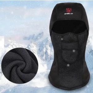 Mens Winter Warm Fleece Full Hood Face Mask Windproof Dustproof Head Cover Neck Waterproof Hat discountshub