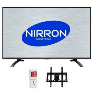 "NIRRON 32"" LED TV With Side Speaker + Free Wall Bracket & Tv Guard discountshub"