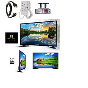 Nsonic 32'' Full Hd Led Tv + Wall Bracket+ Surge +socket+hdmi Cable discountshub