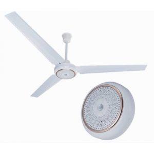 "Ox 56"" Imperial Ceiling Fan - White discountshub"