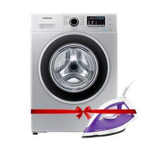 Samsung Rgc_front Load Washing Machine Ww80j5260gs/nq-8kg + Free Philips Diva Dry Iron - Gc122 discountshub