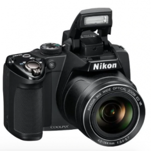 USED Nikon COOLPIX P500 12.1 CMOS Digital Camera with 36x NIKKOR Wide-Angle Optical Zoom Lens and Full HD 1080p Video (Black) discountshub