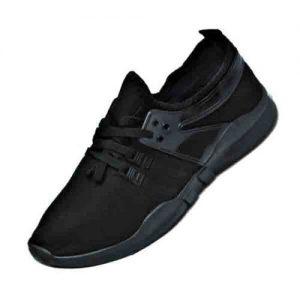 Unisex Casual Sneakers - Black discountshub