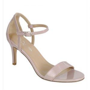 Women's Open-toe Strap Heeled Ankle Sandal discountshub