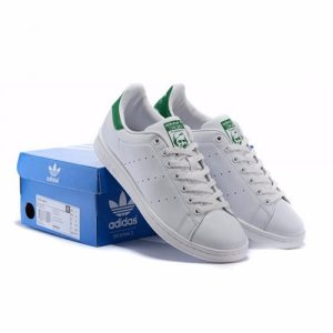 adidas Sneakers by Stan Smith - White & Green discountshub