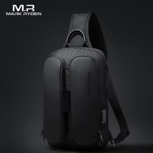 2020 Mark Ryden Shoulder Bag Men USB Charging Men Crossbody Bag Water Repellent Multifunction Sling Bag Fit for 9.7inch Ipad discountshub