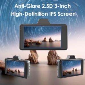 AZDOME M01 Dash cam 3-Inch 2.5D Screen 1080P HD Car DVR Recorder Driver Night Vision 24H Park Monitor G-sensor for Uber discountshub