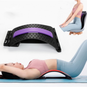 Back Massager Stretcher Equipment Massage Tools Magic Stretch Fitness Lumbar Support Relaxation Spine Pain Relief discountshub