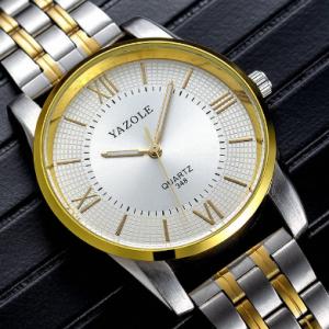 Business Style Full Steel Men Watch Fashion Luminous Display Quartz Watch discountshub