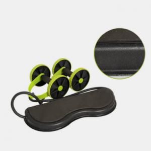 Multifunctional Abdominal Wheel Fitness Power Roller Wheel Silent PlasticWaist Legs Training Equipme discountshub