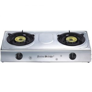 Power Deluxe Two Burner Table Gas Stove-PGS-201 discountshub