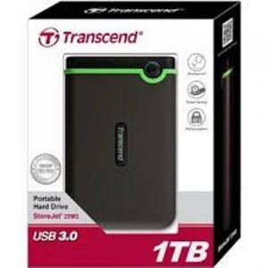 Transcend External Hard Disk Drive HDD - 1TB discountshub