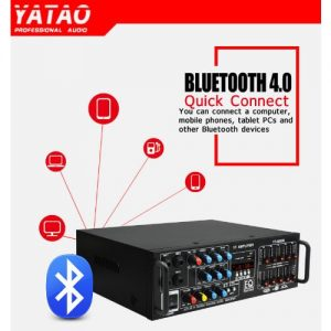 Yta Power Amplifier With Led Display And Bluetooth discountshub