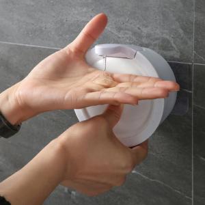 350mL Manual Liquid Dispenser Wall Mount Hand Sanitizer Shampoo Container Bottle Kitchen Bathroom Hand Washing Device discountshub