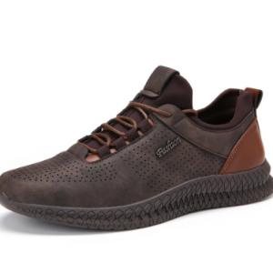 Menico Men Microfiber Leather Non Slip Sport Casual Sneakers discountshub