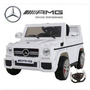 Mercedes Benz G WAGON Ride On For Kids- White discountshub
