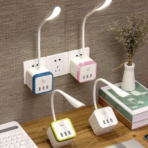 Multifunctional Lamp Socket Adapter Plug Rubik's Cube Wireless Transition More Mobile Phone Charging Band USB Power Strip Power discountshub