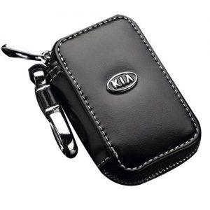 Real Leather Car Key Case Keys Holder Bag For Cadillac discountshub