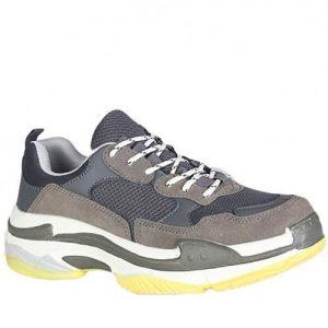 Triple S Chunky Sneakers -Grey discountshub