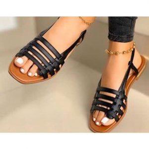 Women's Flat Sandals discountshub