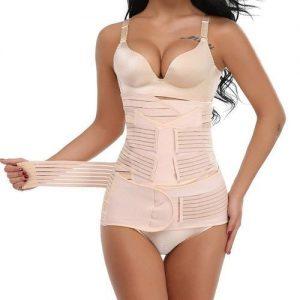 3 In 1 Postpartum Belly Belt, Soft Comfort Maternity Recovery Belt Belly Back discountshub