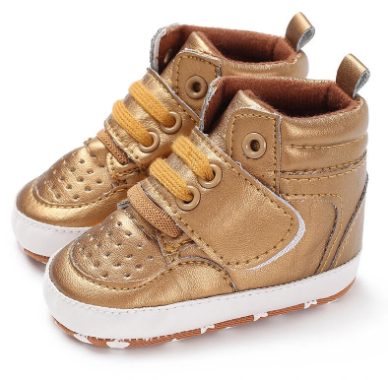 Baby Toddler Shoes Cute Comfy High Top Non Slip Soft Sport Casual Shoes discountshub
