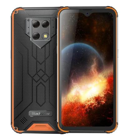 "Blackview BV9800 Rugged IP69K Waterproof Helio P70 Octa-core Android 9.0 6GB+128GB Triple 48MP Camera 6580mAh 6.3"" NFC OTG Phone discountshub"