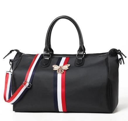 Brand travel bag waterproof large capacity hand luggage travel bee bag fashion women weekend travel handbag fitness sports bag discountshub