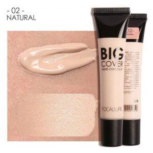 Focallure FOCALLURE Perfect Cover Face Concealer Cream Pro Contour Makeup Liquid 24ML discountshub