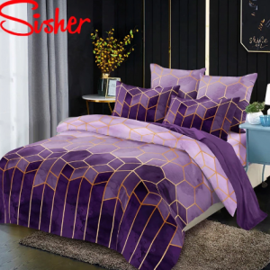 Luxury Style Geometry Gilt Printed Duvet Cover Set Nordic King Size Bedding Sets Double Queen Brief Quilt Covers with Pillowcase discountshub