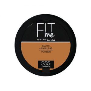 Maybelline New York Fit Me Powder - 355 Cinnamon discountshub