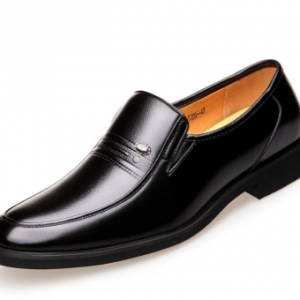 Men Microfiber Leather Breathable Slip-on Business Casual Dress Shoes discountshub
