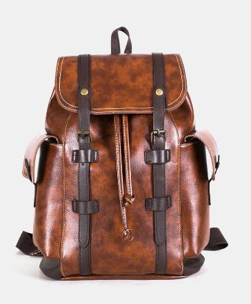 Men Retro Outdoor Large Capacity Backpack discountshub