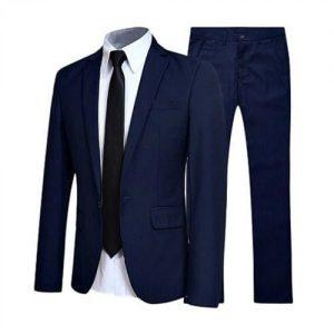 Men Suit Navy Blue -- 1 Week Promo discountshub