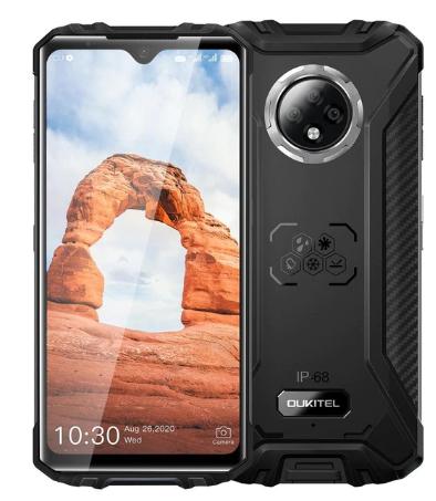 OUKITEL WP8 Pro IP68 Rugged Smartphone Android 10 4GB 64GB 5000mAh 16MP Triple Camera NFC 6.49 inch Mobile Phone Waterproof discountshub