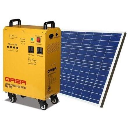QASA The New Generation Qlink Solar Or Phcn Powered Generator - Solar Panel + Battery discountshub