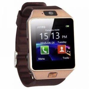 Smart Android Phone Wristwatch DZO9 - Brown discountshub