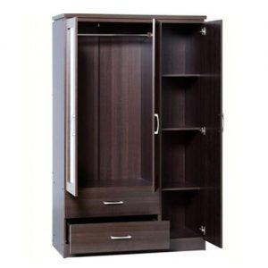 3 Doors Wardrobe ' AND GET A FREE OTTOMAN'( Only In Lagos) discountshub