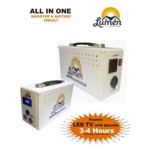 300w Inverter With Inbuilt Phosphate Lithium Battery- 256wh discountshub