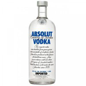 Absolut Vodka 1L 40% acl. - Single Bottle discountshub