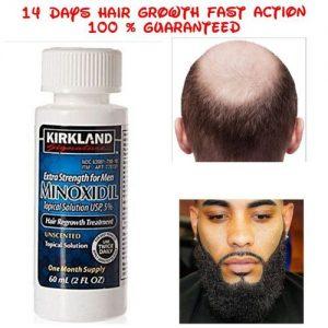 Kirkland Signature Minoxidil 5% Extra Strength Bald Hair & Beard Growth For Men discountshub