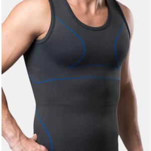 Men Sport Compression Waist Trainer Corset Underwear Elastic Breathable Bodybuilding Vest discountshub