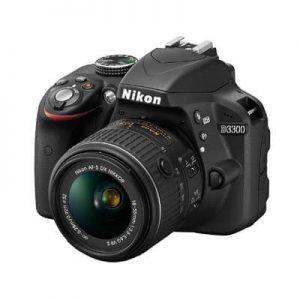 Nikon D3300(18-55)VR Lens+Bag & 16GB SD Card discountshub