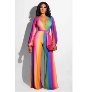 Rainbow Jumpsuit discountshub