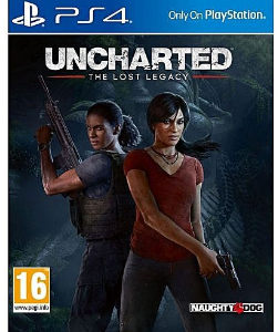 Naughty Dog Uncharted Lost Legacy PS4 discountshub