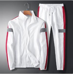 2in1 New Men's Trendy Tooling Jacket Suit -White discountshub