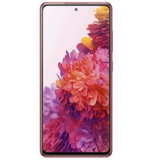 Samsung Galaxy S20 FE 6.5-Inch (6GB 128GB ROM) (12MP + 12MP + 8MP)+(32MP Front) Dual SIM 4G - Cloud Red discountshub